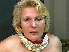 Velho torturas grandes mamas gordinha loira