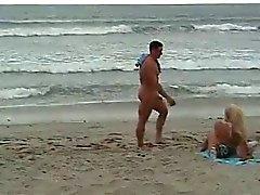 CFNM - Opgericht haan op het strand