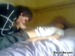 Young guy gets sucked by cousin