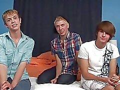3 gay beginners in eerste actie