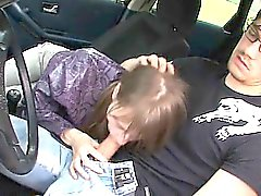 De 18yo joven serbian follada en del coche