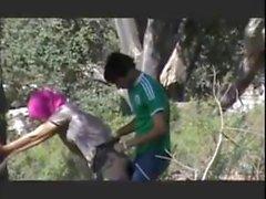 Prova y su novio duro sexo al aire libre