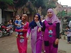Hijab girls with big asses