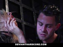 DeviantHardcore - Une ado soumise dominée anale