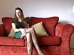 Antonia models these random tights from China called Sexy