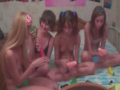 Cuatro adolescentes bielorrusos de directo
