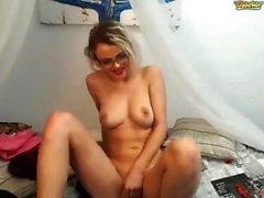Bionda scarlatto webcam da solista