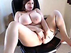 Webcam Girl Has Amazing Tits