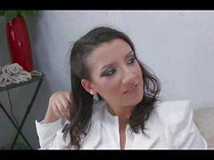 beautiful fuck girl fucking much with shemale.