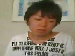Ein japanisches Teen Jungen beginnt
