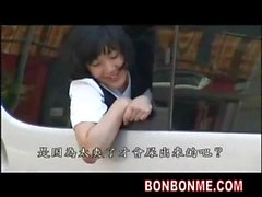Girl fucked in car but face out of car 01