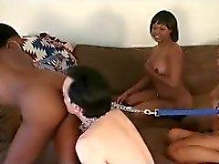 Черная девочка Мастерс и белом Мальчик Рабы 2