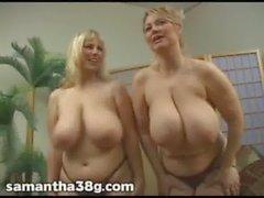 Ctexsins a Chelle 34ff y Samantha 38G