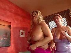 Rondborstige Cougar Orgy