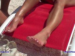 Dannii Harwood Bikini Demütigung