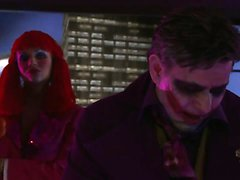 Cat woman and the joker have a sex party without batman