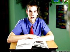 Naughty opiskelija rangaistaan plagiointia