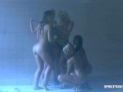 Lesbo Orgiat joissa Eeva enkeli Zafiran Claran G sekä More