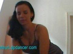 Peituda Checa garota faz lapdance tira e BJ