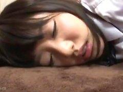 Asian Amateur Japanese AV actress naked makeup sex