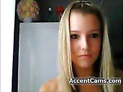 Leuk Meisje op Cam strippen