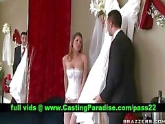 Kayla Paige prachtige rondborstige bruid