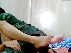 Thai Army Guy Barefuck amie beau .