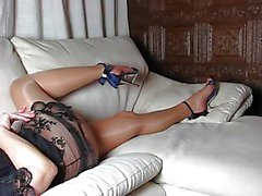 PERFECT ben och höga klackar och skor och BODY KVINNA