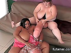 big boobs schwarz und ebony fett interracial