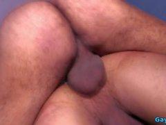 Latin Homosexuell harten Fick mit Cumshot