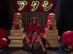 Kaylani Lei dildos her Hot asian holes