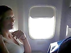 ВСР - женщина мастурбации о самолета