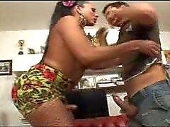 big boobs tits ass brunette latin