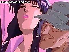 Schattige hentai babe is gevangen part5