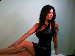 Denise Milani Reizvolle Schlag Sound - nicht nackt