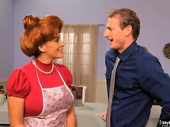 Raylene is a housewife with a lot of chores to tend to, but