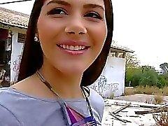 Valentina Nappi de Cameltoe buceta Na a desnudez Público
