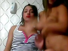 Turkish Tgirls playing with each other on cam