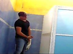 общественное полов в туалет Канкун Мексика