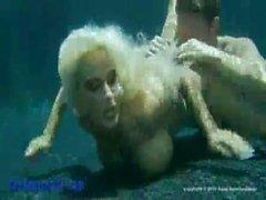 Holly Halston Underwater