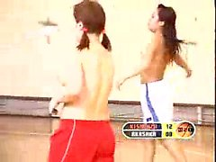 Naughty Japanese basketball players showing off their lovel