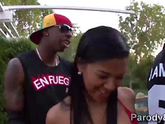 Miami Palo kuumaa Latinas Jaada Stevensin ja Emy Reyes