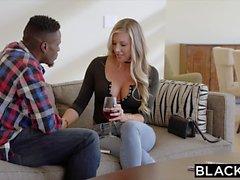 BLACKED Samantha Saint Trucos con la BBC