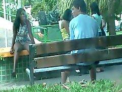 vrouw te verleiden in het park deel 2