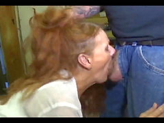 The Arizona HotWife Blows a Biker Mechanic in His Shop