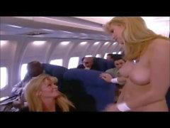 Vintage Ginger Lynn Sex на самолете