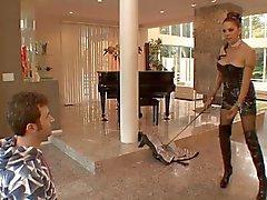 Hete rijpe Meesteres Angela D' Angelo geneukt Hard In Boots
