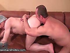 Hardcore gay bareback neuken en pik part2