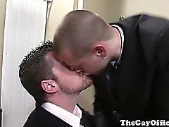 Homosexuell Amt Bolzen bumsen in der Chefetage