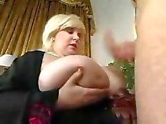 Volwassen Fat BBW Milf met grote tieten